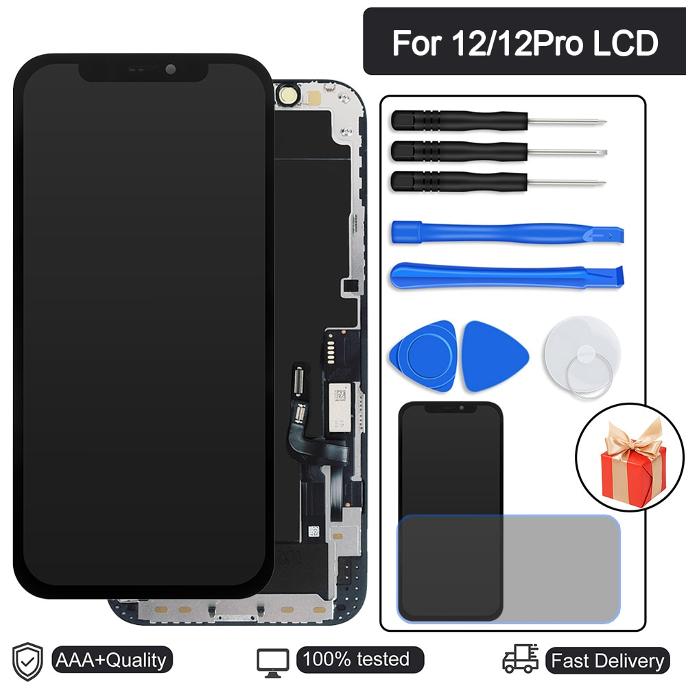Review Perfect Repair AAA+++ incell LCD Display For iPhone 12 12 Pro LCD Screen 5.8 inch Replacement Assembly Digitizer Touch Pantall