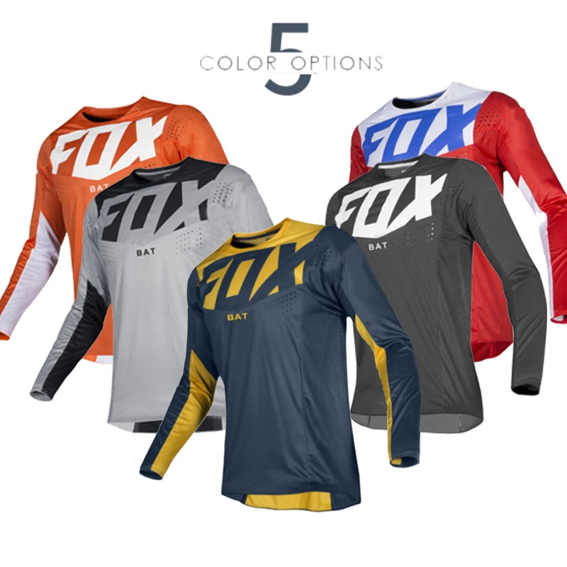 AliExpress - 2021 Men's Downhill  Fox Jerseys  Mountain Bike MTB Shirts Offroad DH Motorcycle Jersey Motocross Sportwear Clothing FXR Bike