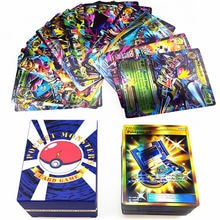 120PCS Pokemon Tag Team Energy EX GX Trainer Shining Cards Box TAKARA TOMY Playing Games Card Battle