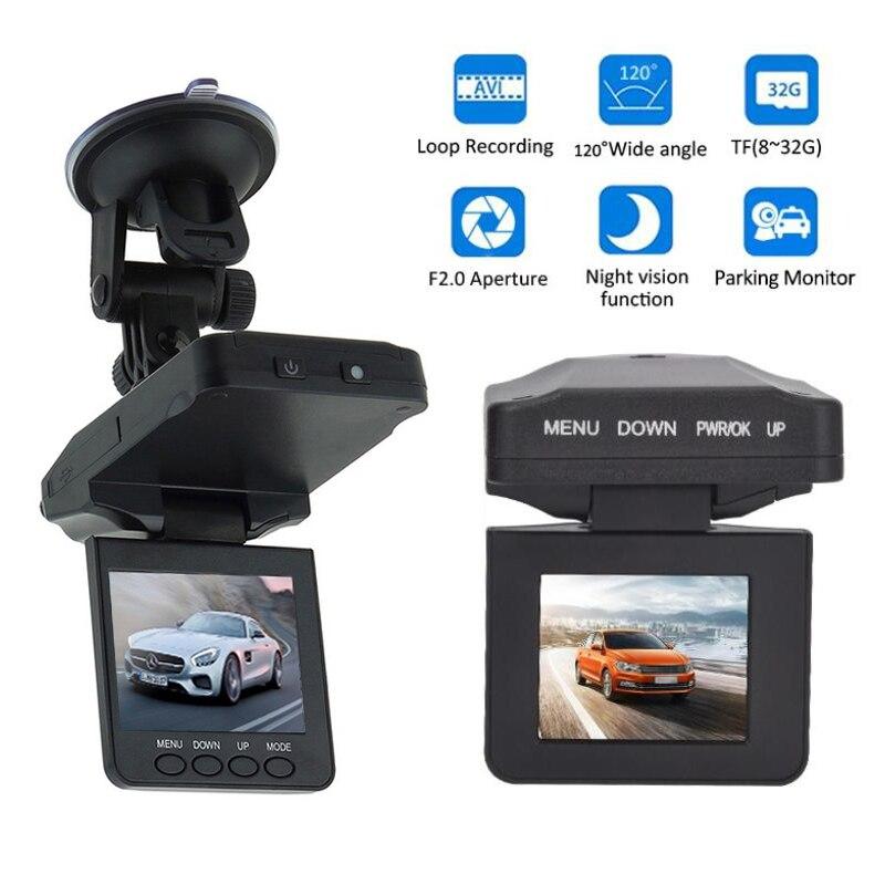 "2.4 ""Lcd-bildschirm 6 IR LED 270 Grad Drehbare Nachtsicht FHD Auto DVR Dash cam Kamera Recorder Registrator auto Video recorder"