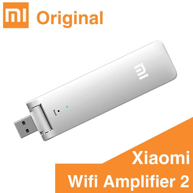 Xiaomi mijia WiFi Mi Amplifier 2 Wireless Wi-Fi Repeater 2 Network Router Extender Antenna Wifi Repitidor Signal Extender 2 HOT