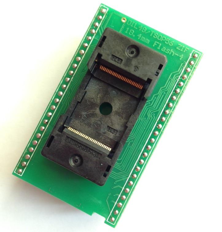 DIL48/ TSO56 ZIF 18.4 مللي متر فلاش-4(X16) ELNEC الموقد كتلة حرق خاصة