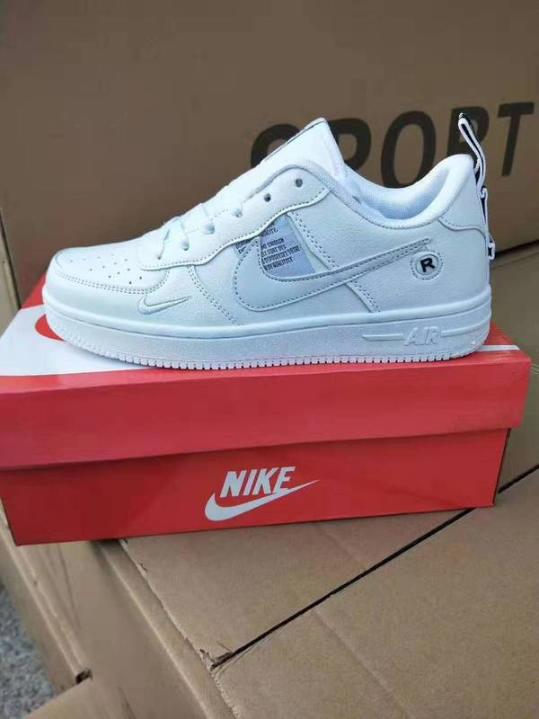 Authentic Original SCHNIKE-Air Force 1 Just Do It Men Skateboarding Shoes AF1 AirForce One Women's Outdoor Sports Sneakers