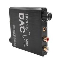 Toslink     adaptateur Audio Coaxial pour Home cinema  Jack 3 5mm  convertisseur numerique-analogique  stereo pour DVD HD  prise en charge du controle du Volume  192KHz