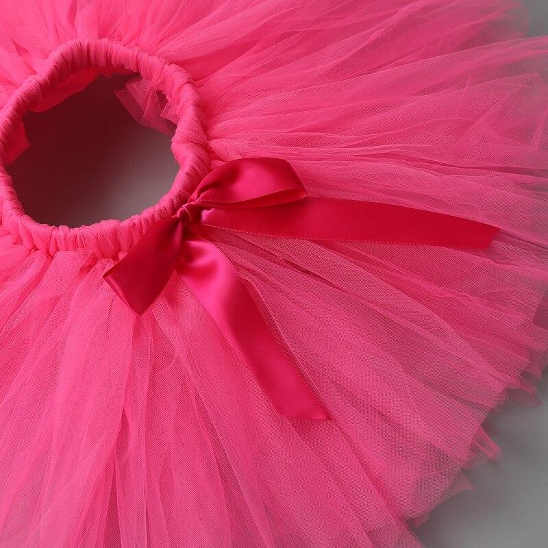 Купить с кэшбэком Newbron Baby Girls Skirts Tutu Cute Kids Casual Ruffle Chiffon Mini Tutu Skirt Ball Gown Pettiskirt For Children Party Clothes