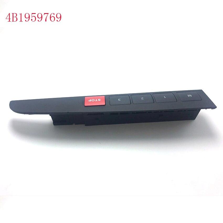 4B1959769 4B1959769 5PR  memory adjustment switch seat adjustment switch knob 4B1 959 769 4B1 959 769 for audi A6 C5 1999-2005