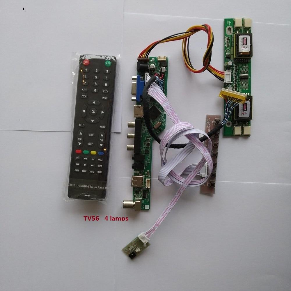 USB VGA الصوت التلفزيون AV عرض محمول LCD LED 1 CCFL مصابيح تحكم لوحة للقيادة لتقوم بها بنفسك عدة ل LTN170X2-L02 التسلسلي 1440X900