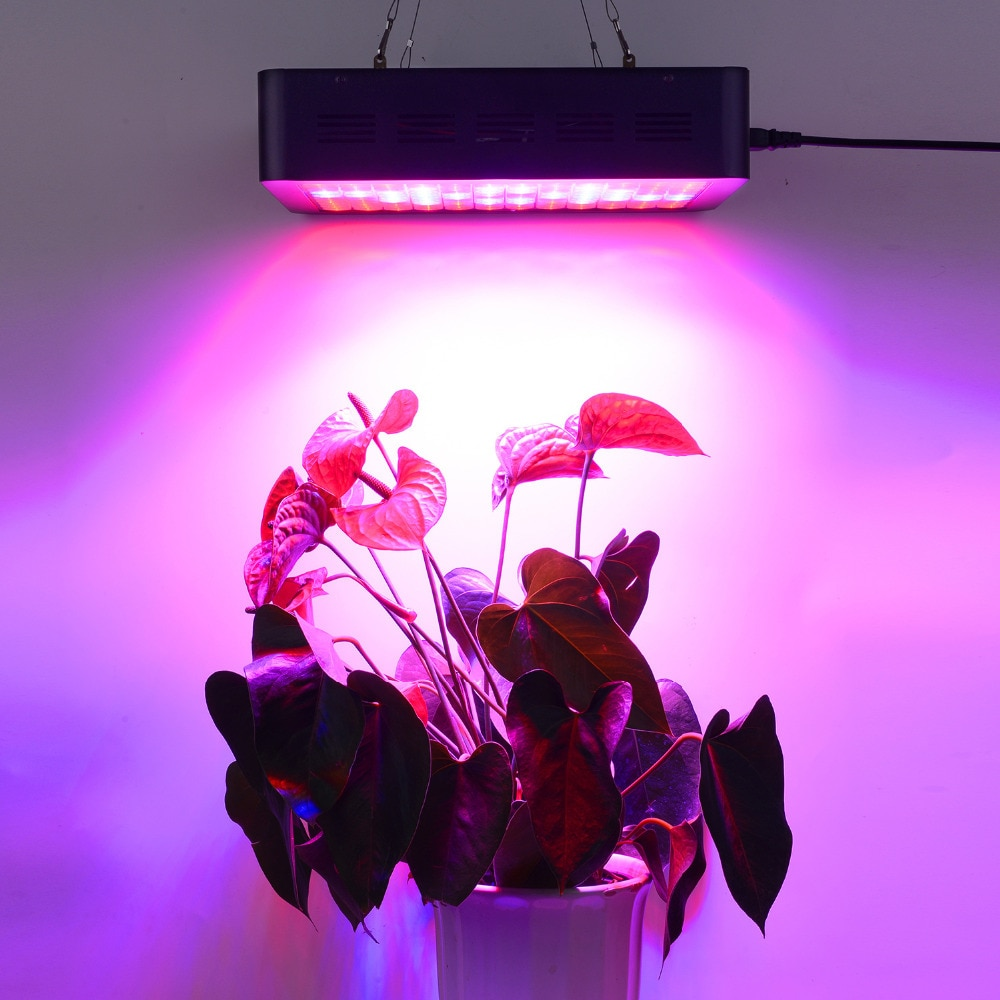 Double Switch TB-1200W Full Spectrum LED grow light with Veg/Bloom modes for Indoor Greenhouse grow tent plants grow led enlarge