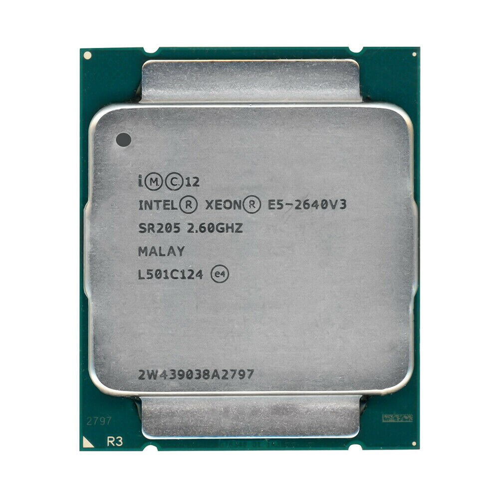 Intel Xeon E5 2640 V3 2.6 GHz 20MB 8-core 90W socket LGA 2011-3 sr205 processor CPU
