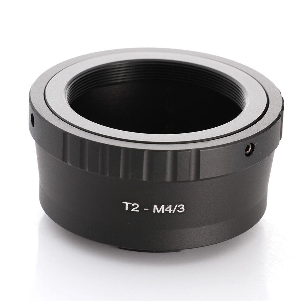 T2 t adaptador de lente de montagem para micro quatro terços micro 4/3 m43 adaptador ep5 E-PL7 gh4 gh5 gf6