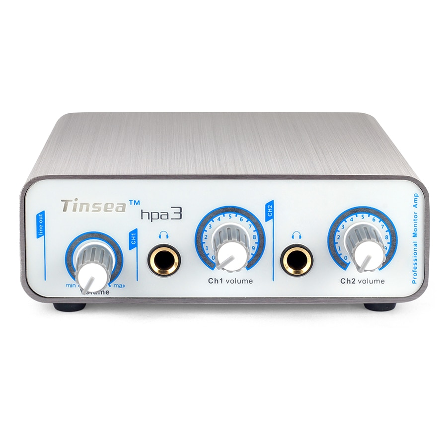 Tinsea hpa3 Professional headphone preamplifier 2-channel headphone splitter Music production monitor distribution equipment enlarge