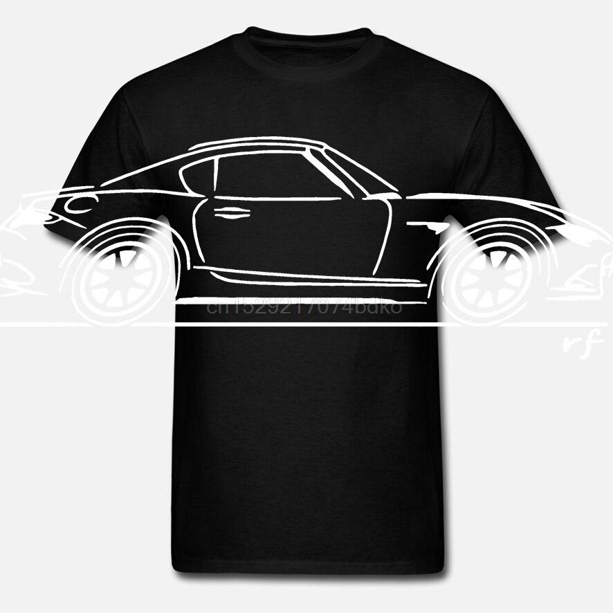 Boceto de arte Original. Camiseta clásica de coche. Mazda MX5 de RF