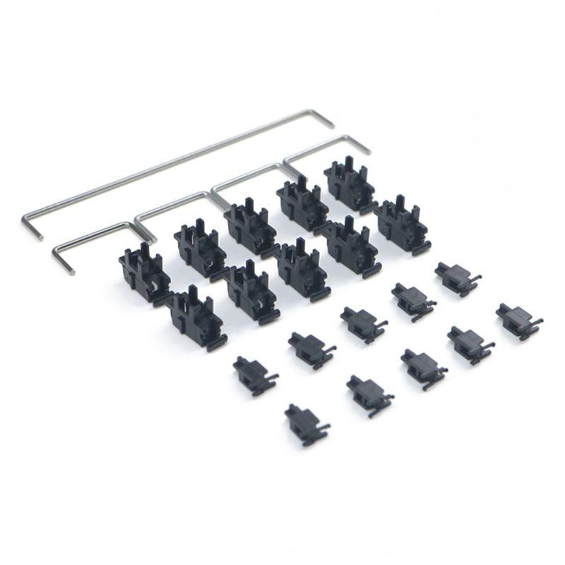 60% 87 Mechanical keyboard Pcb Mounted Stabilizer Case 6.25u Modifier Key Stabiliser Plate