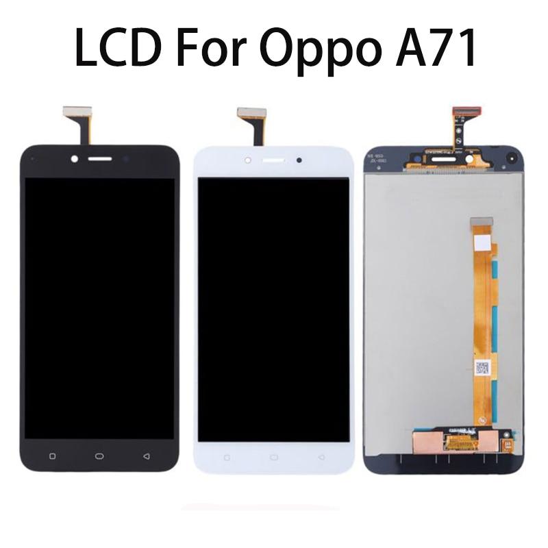 """Pantalla LCD de 5,2 """"para OPPO A71 pantalla táctil digitalizador piezas de repuesto de pantalla para OPPO a71 Pantalla Completa CPH1717 CPH1801"""