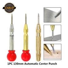 1PC 130mm HSS Automatische Zentrum Punch Center Pin Punch Frühling Geladen Kennzeichnung Ausgangs Loch Zentrierung Werkzeug Zentrum Punch automatische