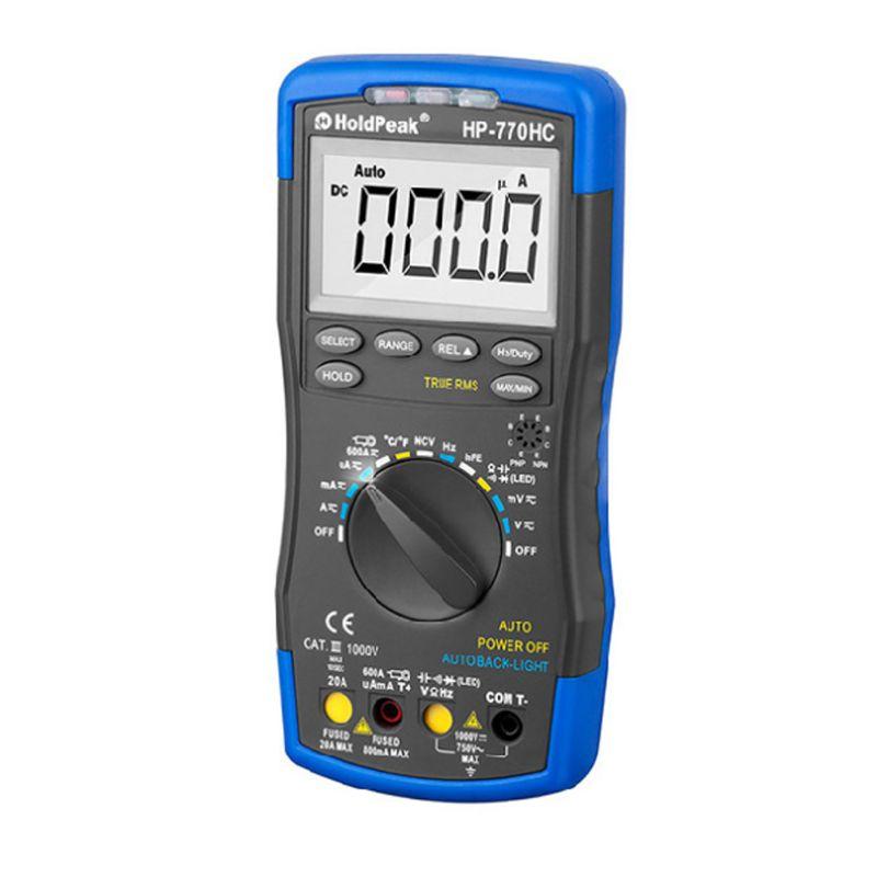 HP-700HC Цифровой мультиметр NVC ЖК-дисплей постоянного тока переменного напряжения вольтметр мультитестер 831F