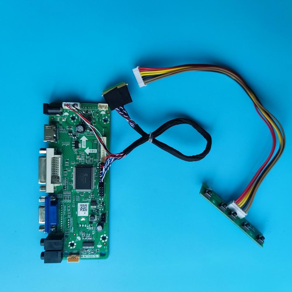 HDMI متوافق مع لوحة تحكم بطاقة عدة إشارة رقمية LED VGA LCD M.NT68676 2019 ل LP156WHB(TL)(A1) 1366X768 لوحة الشاشة