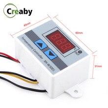 XH W3001 W3002 DC 12V 24V AC 110-220V LED régulateur de température numérique Thermostat Aquarium incubateur refroidissement contrôle de chauffage