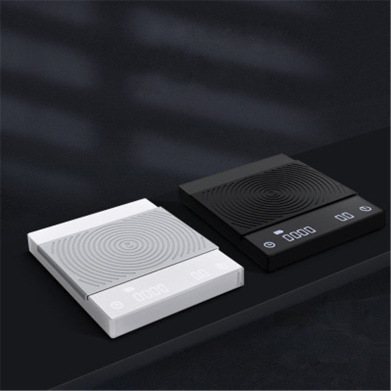 Escala básica de café Timemore con temporizador 2KG/0,1g a prueba de agua, balanza electrónica de café con goteo, balanza Digital inteligente para Cocina