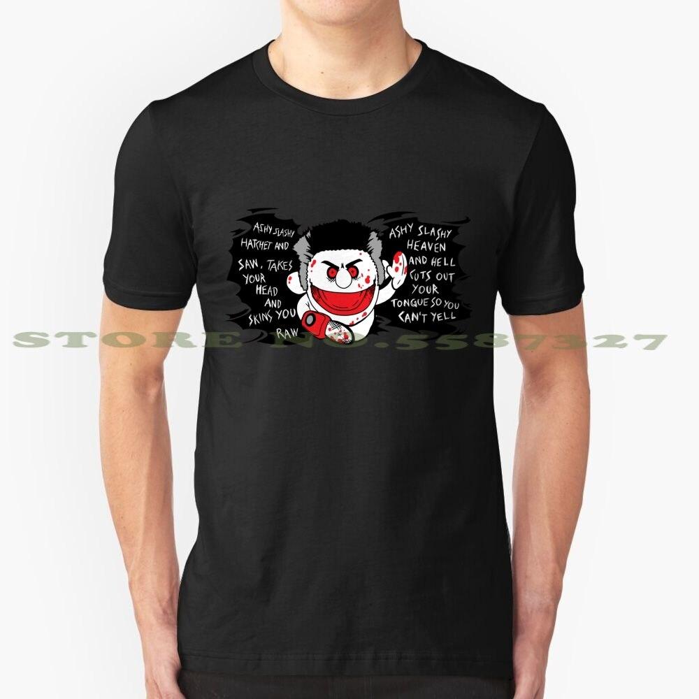Ashy Slashy Hatchet and Saw Ash Vs Evil Dead T - Shirt cool design t-shirt for men women