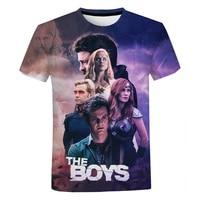 2020 the boys 3d print t shirt tv series harajuku streetwear t shirt men women fashion casual short sleeve cool tee tops