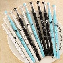 24 pièces stylo texte créatif 12 Constellation étudiants stylo aiguille Tube 0.5mm examen de bureau dédié en gros