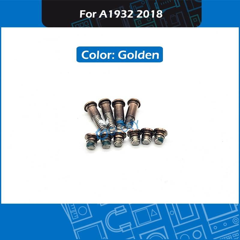 "50 pzas/lote de A1932 tornillo para Macbook Retina 13 ""A1932 cubierta inferior tornillos MRE82"