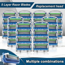 Men's shaver Gillette Razor Blades Fit  Fusion 5 For Men Shaving Safety Manual  Machine Replacement
