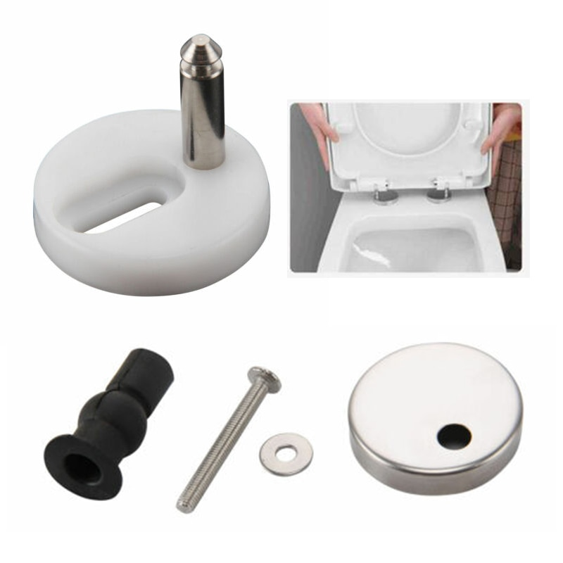 Toilet Cover Fittings Screws Toilet Lid Cover Connectors bolts accessories Toilet Seat Mounting Bathroom Hardware Bath Fixturer