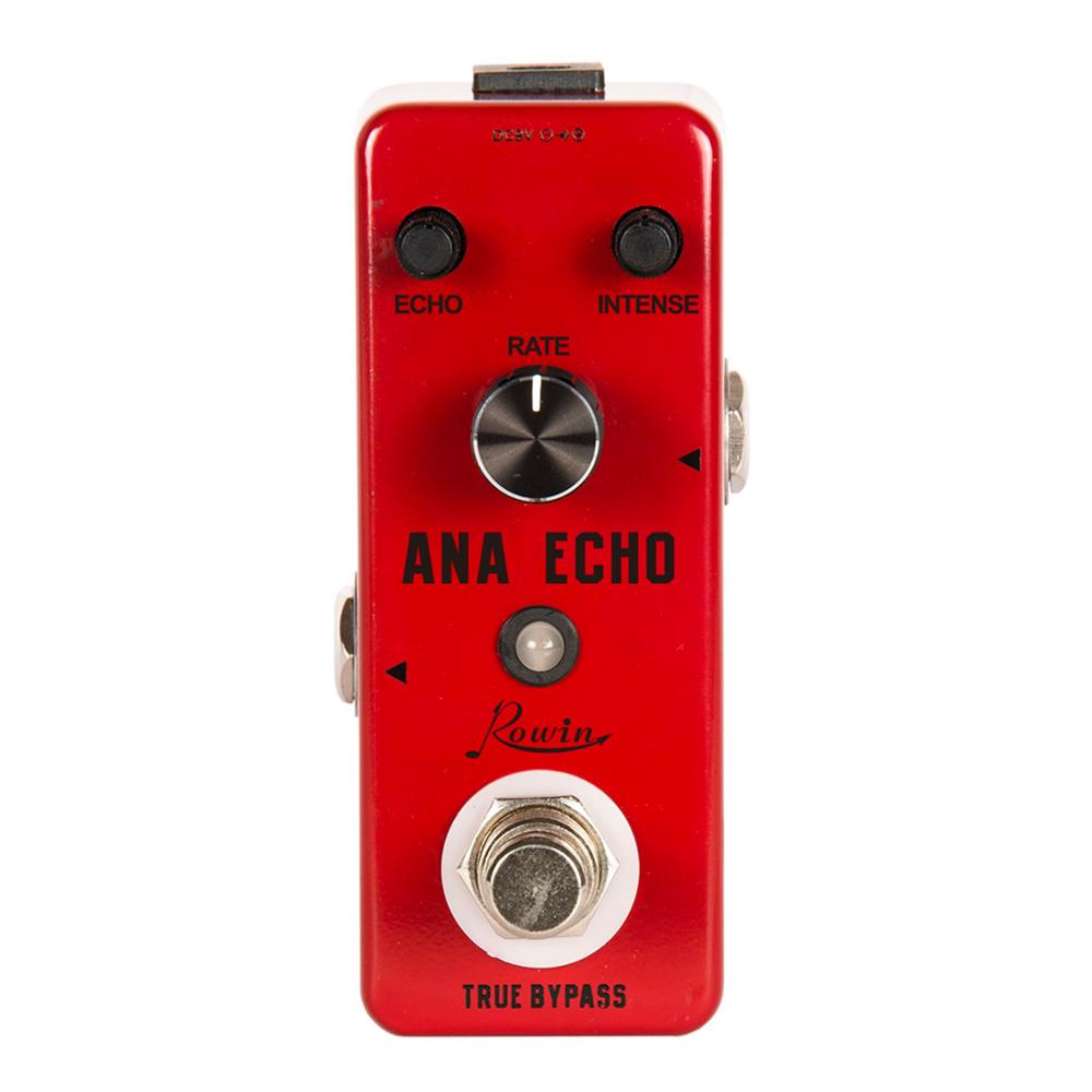 rowin tiny looper electric guitar effect pedal 10 minutes of looping unlimited overdubs Rowin LEF-303 Guitar Delay Pedal Ana Echo Pedals For Electric Guitars Bass Analog Delay Effect Pedal