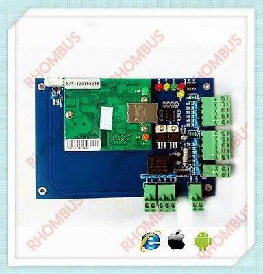 TCP/IP 1 puerta navegador servidor B/S iOS Android Apple App móvil Control...