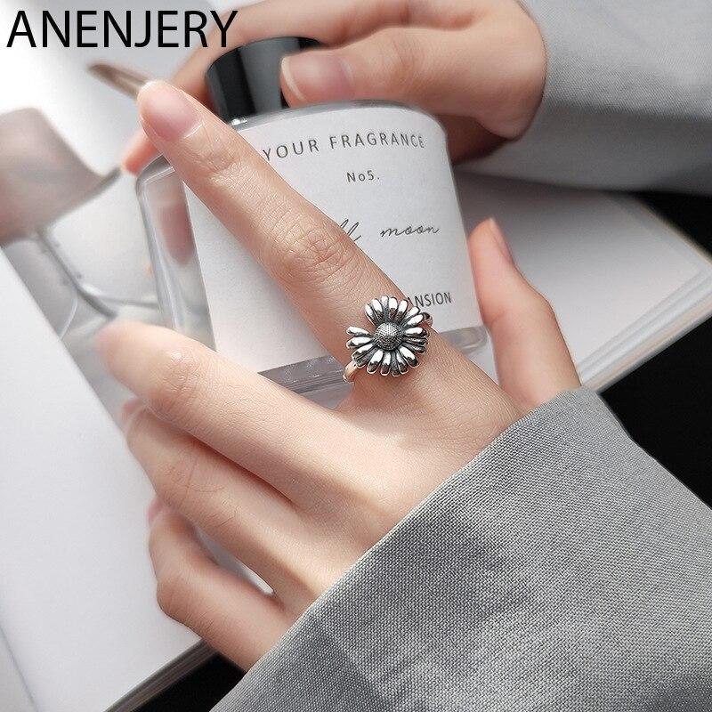 Винтажное-Открытое-кольцо-goldria-из-серебра-925-пробы-с-подсолнухом-для-женщин-ювелирные-изделия-подарки-оптом