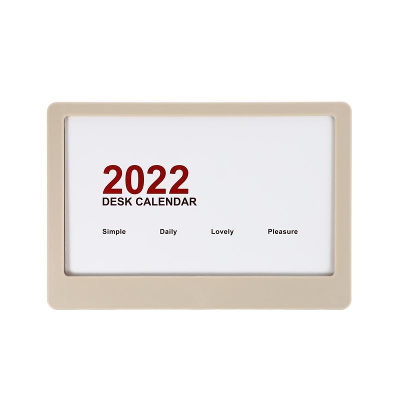 Настольный календарь, 1 шт., креативная Вертикальная Съемная страница 2022, настольный календарь (случайный цвет)