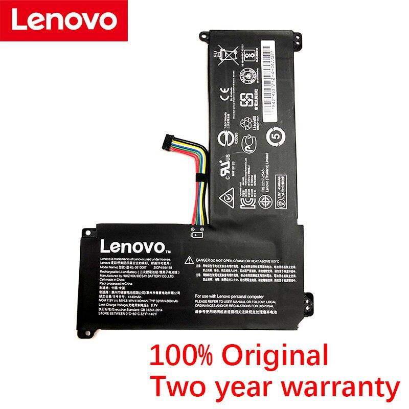 الأصلي لينوفو IdeaPad 120S 120S-14IAP 130S-11IGM 14IGM S130-11IGM 0813007 7.5V 31Wh 4300mAh بطارية كمبيوتر محمول