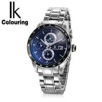 ik colouring mens watch luxury top brand mechanical watch relogio feminino business automatic self winding new watch 98445