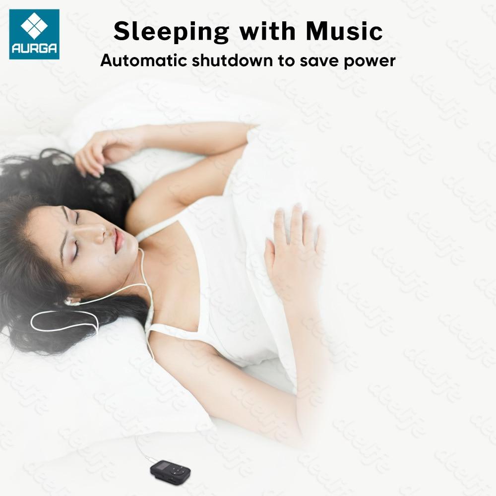 Deelife Bluetooth MP3 Music Player with Radio FM Recording and TWS True Wireless Headphone in Ear Phones Earphones Sports Kit enlarge