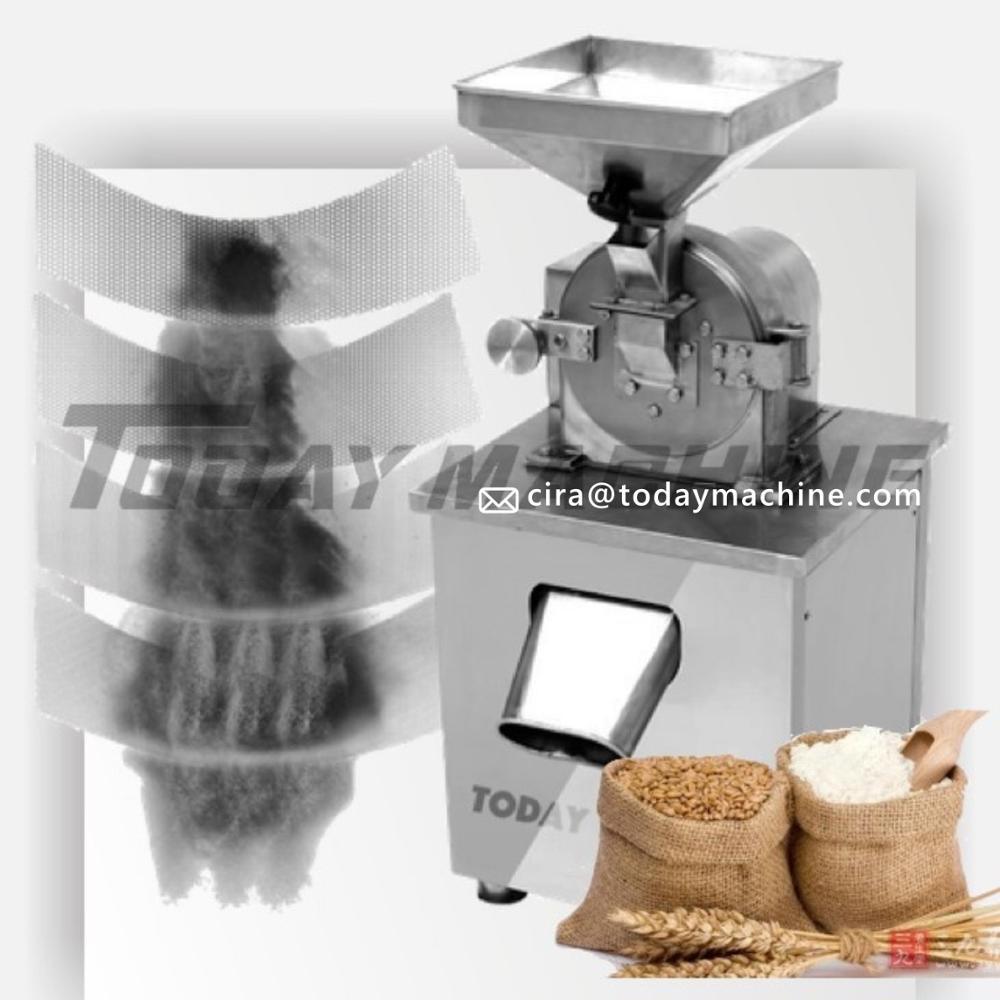 Máquina de molinillo de azúcar en polvo con CE Molino de azúcar en polvo