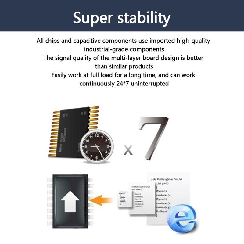 HDMI-متوافق مع الفيديو بطاقة التقاط الصوت والفيديو 1080P PCIe التقاط الفيديو جهاز منافذ رباعية