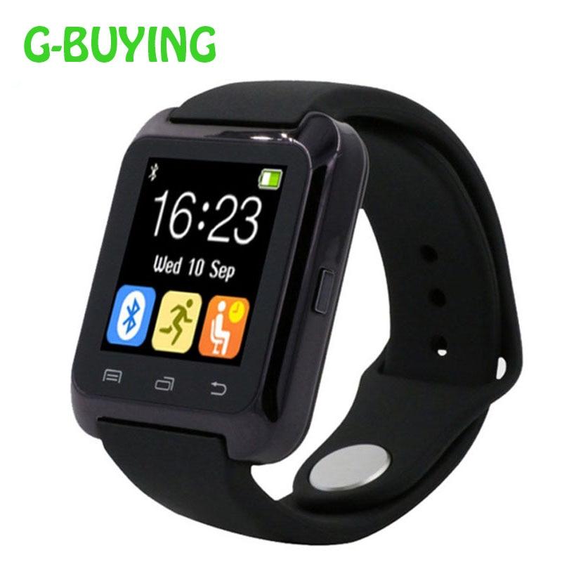 Smartwatch Bluetooth Smart Watch U80 for iPhone IOS Android Windows Phone Wear Clock Wearable Device Smartwatch PK U8 GT08 DZ09