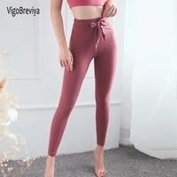 vigobreviya women seamless sport leggings high waist tights leggins for fitness tummy control woman gym yoga pants sports wear