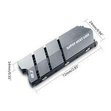 1Set M.2 Ssd Nvme Ngff Koellichaam Aluminium Heatsink Met Thermische Pad Voor M2 2280 N0HC
