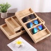 high grade glasses display box home sunglasses storage box custom wooden ladies sunglasses storage box