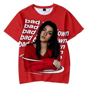 Fashion Creative Charli D'amelio T-Shirt Casual Popular T-shirt Kids Men Women Summer T-shirt Streetwear Harajuku Teen Tops