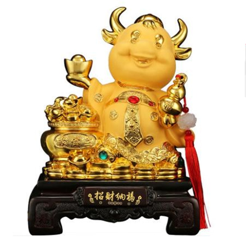 feng-shui-resin-taurus-statue-home-decoration-accessories-zodiac-cattle-home-decor-office-hotel-decor