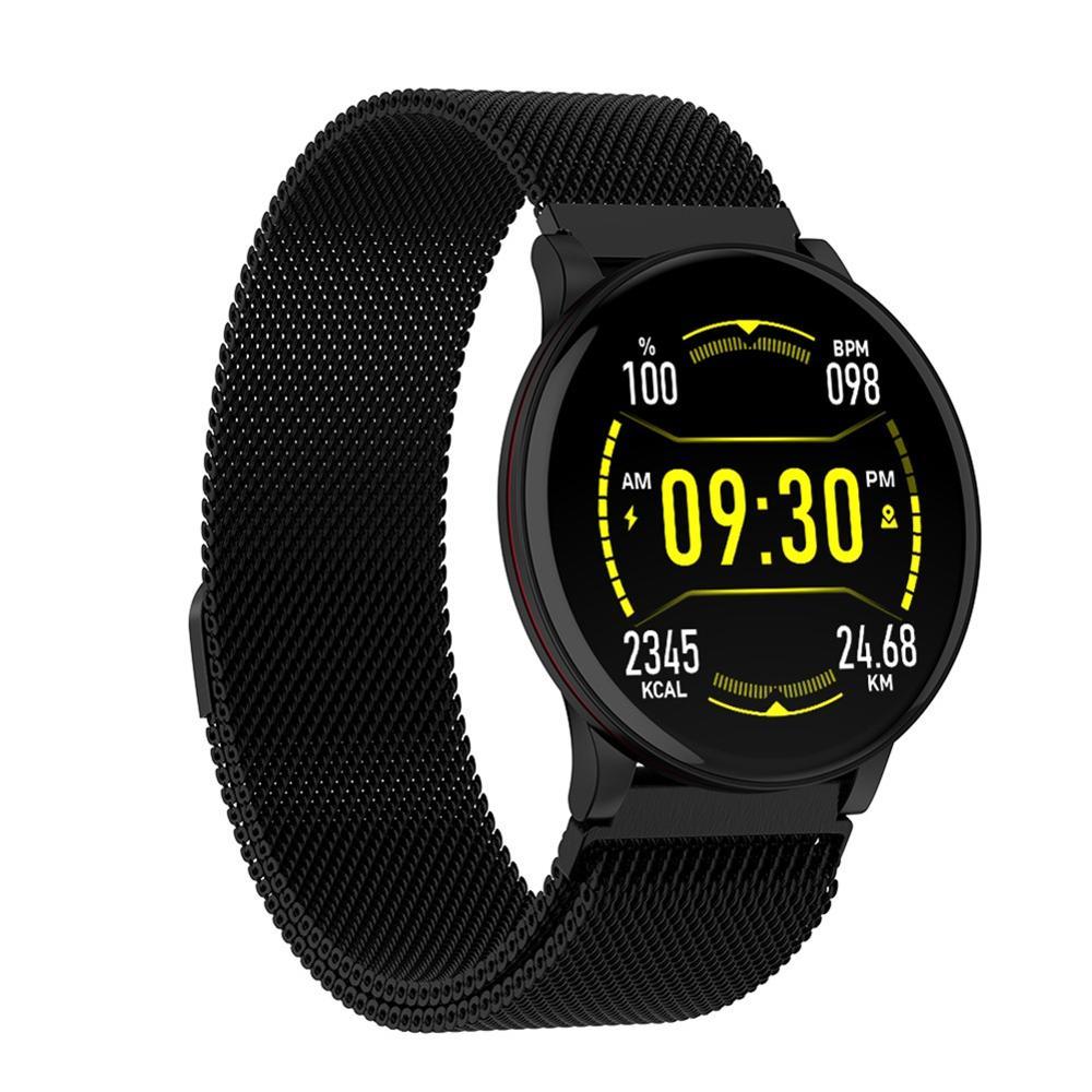 Pulsera inteligente IP68 a prueba de agua Frecuencia Cardíaca presión arterial oxígeno dormir Monitor reloj pulsera inteligente