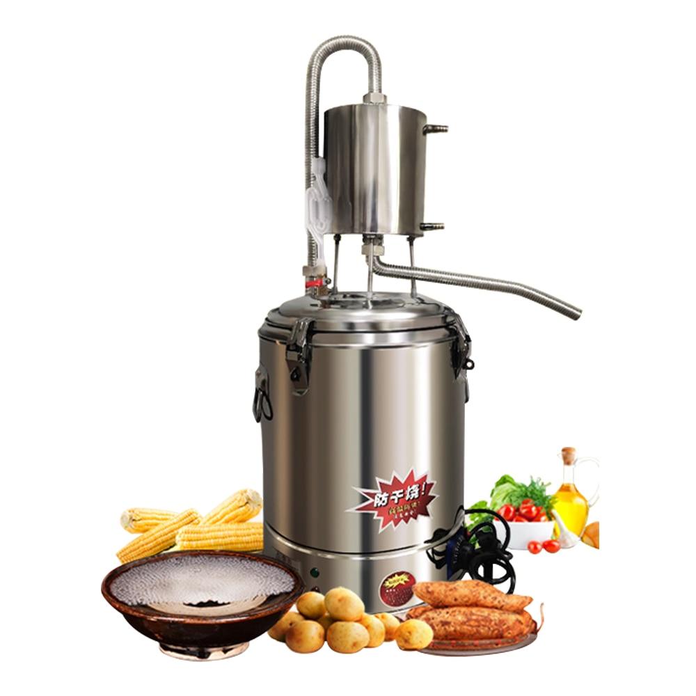Moonshine-غلاية كحولية أوتوماتيكية ، 220 فولت ، للاستخدام المنزلي ، غلاية ذكية ، آلة تقطير