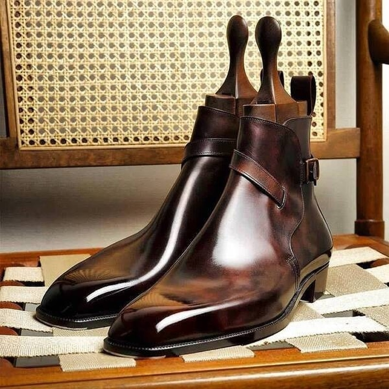 2021 New Simple Men's Formal Wear Casual All-match Business Mid-to-high Men's Shoes Korean Fashion T