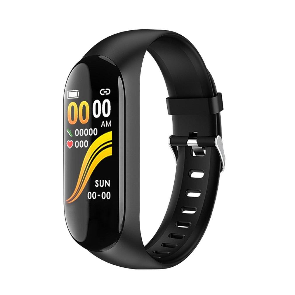 Nova W2 Temperatura Do Corpo Banda Inteligente Pulseira Heart Rate Monitor de Pressão Arterial Saúde Pulseira Pedômetro Rastreador Esporte Relógios