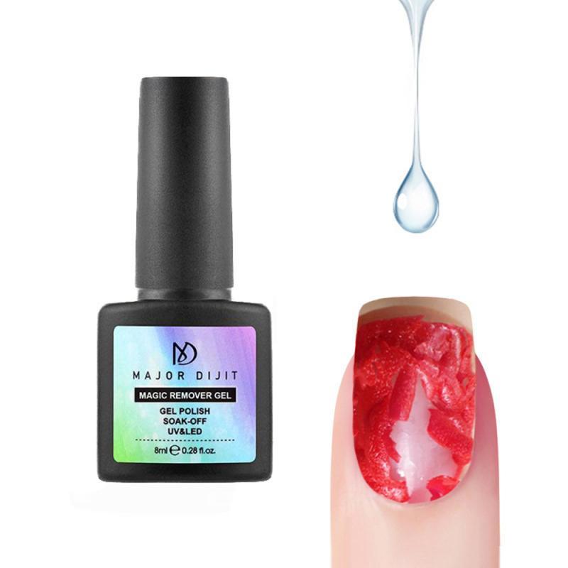 8ml quitaesmalte de uñas de Gel eliminador para poner en remojo esmalte de uñas eliminar imprimación acrílico desengrasante limpio para esmalte para decoración de uñas TSLM1