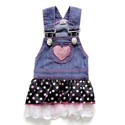 Vestido de cão de verão vestido de roupas para cães pequenos menina gato vestir-se animais de estimação roupas